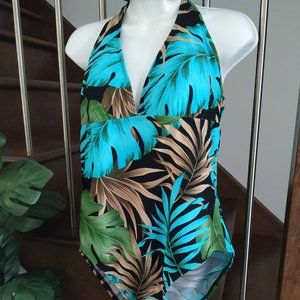 👙 Speedo Palm beach one piece vtg. swimwear